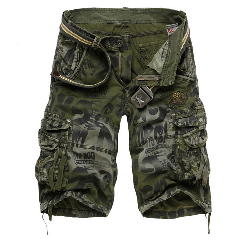 MJARTORIA Cargo   Shorts   Cool Camouflage Summer Hot Sale Cotton Casual Men   Short   Pants Brand Clothing Comfortable Camo Men   Shorts
