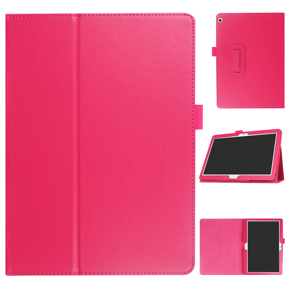 Case For Huawei Mediapad M3 Lite 10 10.1 BAH-W09 BAH-AL00 Folding Stand Cover Protective Case For Huawei M3 Lite 10 Tablet Funda