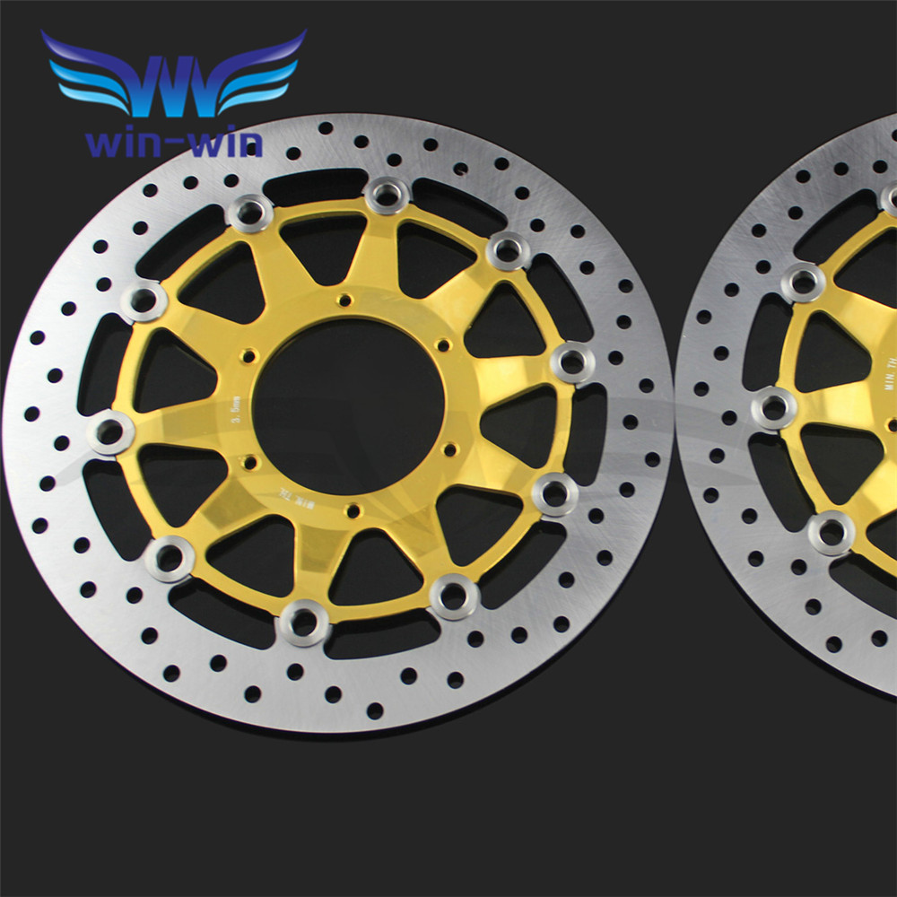 new high quality   motorcycle  accessories Front Brake Disc Rotors  For Honda CBR1000RR 2006 2007 2008 2009 2010 2011 2012 arashi motorcycle radiator grille protective cover grill guard protector for 2008 2009 2010 2011 honda cbr1000rr cbr 1000 rr