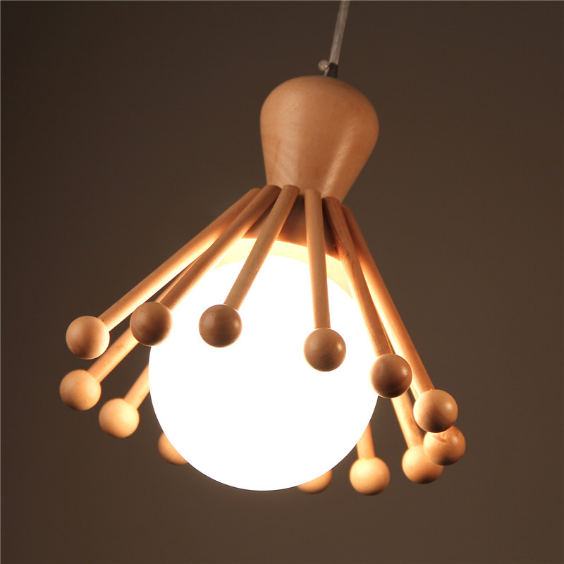 hout kroonluchter verlichting koop goedkope hout kroonluchter