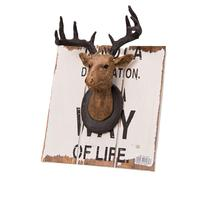 Deer Head Ornaments Wall Decoration Photography Prop Decoration For Halloween Christmas Parties Corrosion Resistance