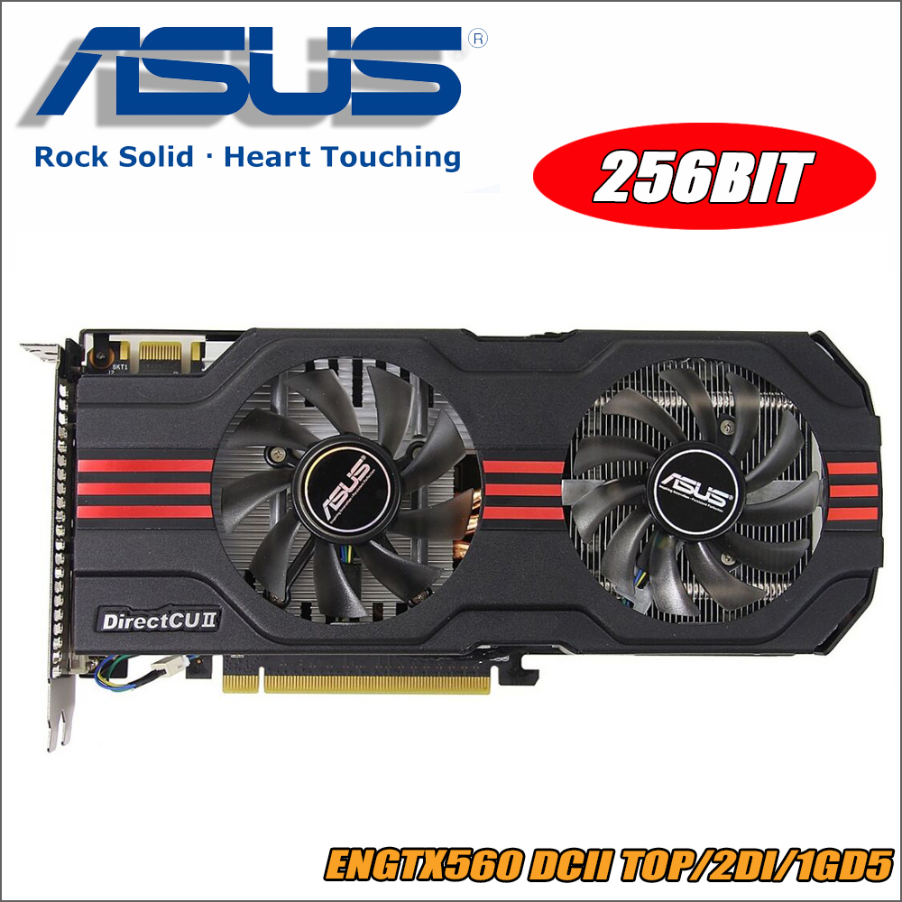 все цены на used ASUS Video Card GTX 560 1GB 256Bit GDDR5 Graphics Cards for nVIDIA Geforce GTX560 VGA Cards stronger than GTX 650 онлайн