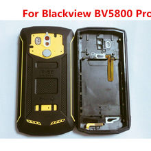 New Original For BLACKVIEW BV5800 PRO 5.5'' Cellphone IP68 Housings Back Battery Cover Case Repair Parts For BLACKVIEW BV5800(China)