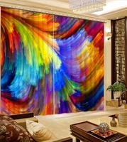 Home Decor Living Room Natural Art 3d curtain Room curtains Custom 3D curtains Home Decoration