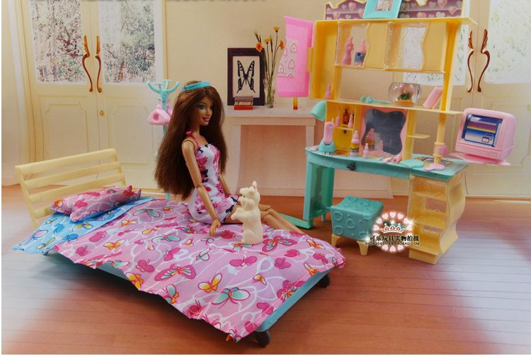 online get cheap barbie slaapkamer set -aliexpress | alibaba group, Deco ideeën