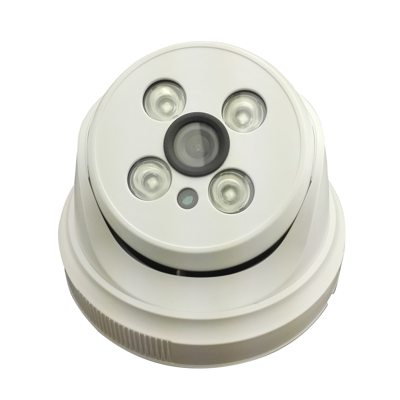 ФОТО 4IR night vision HD 4.0MP IP network security camera indoor dome Onivf plastic H.264 12V2A power