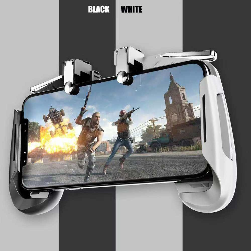 AK16 Pubg Mobile Gamepad Pubg Controller for Phone L1R1 Grip with  Joystick/Trigger L1r1 Pubg Fire Buttons for iPhone Android IOS