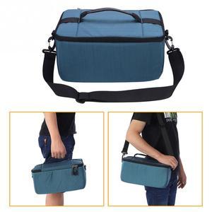 Image 4 - Waterproof DSLR Camera Shoulder Bag Portable Padded insert Camera Case dslr Bags Handle Camera Lens Bag Case Pouch