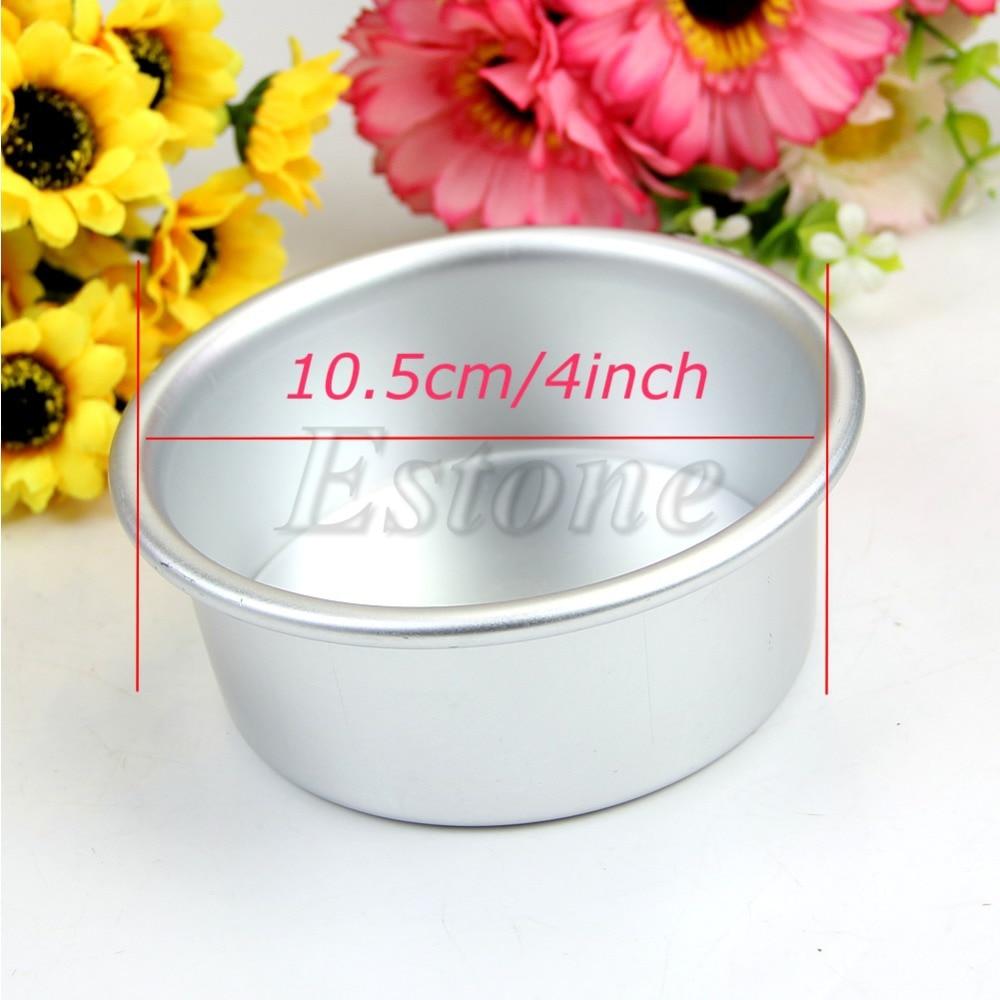 Reusable Round Cake Tin Pan Loose Base Bottom Sizes 4