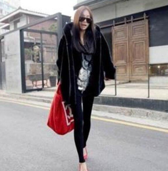 Long Aw150 Femmes De Fausse Fourrure Manteau Épais 2018 D'hiver Preppy Plus La Xulanbabt Taille Outwear Fourrure Imitation aq4t8w