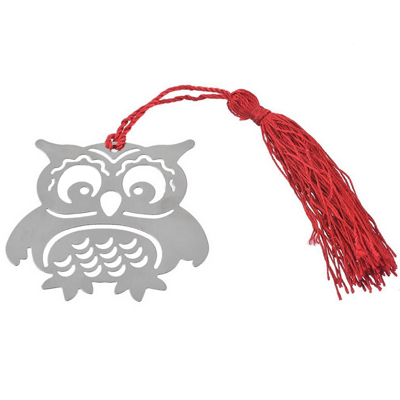 4 PCS Creative Cute Eagle Owl Bookmark Note Funny Book Marker Memo Stationery Gift Hot hot sale new cute silicone finger pointing bookmark book mark office supply funny gift drop shipping