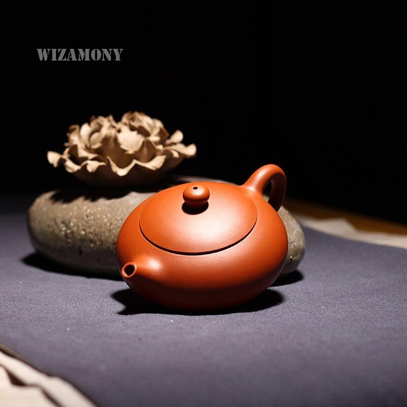 WIZAMONY 150ML Purple Clay tea set Zisha Ceramics Art handpaint bain xishi Teapot Porcelain yixing Clay