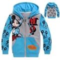 Kids Boys Mickey Hoodies & Sweatshirts Long Sleeves Spring Autumn Cotton