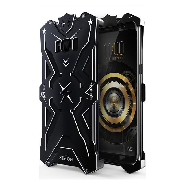 uk availability 88cbb 15933 US $18.64 |SIMON THOR IRONMAN Metal Case for SAMSUNG Galaxy S8 5.8 inch  Shockproof Hard Phone Cover Armor Case for SAMSUNG Glaxy S8 Plus on ...