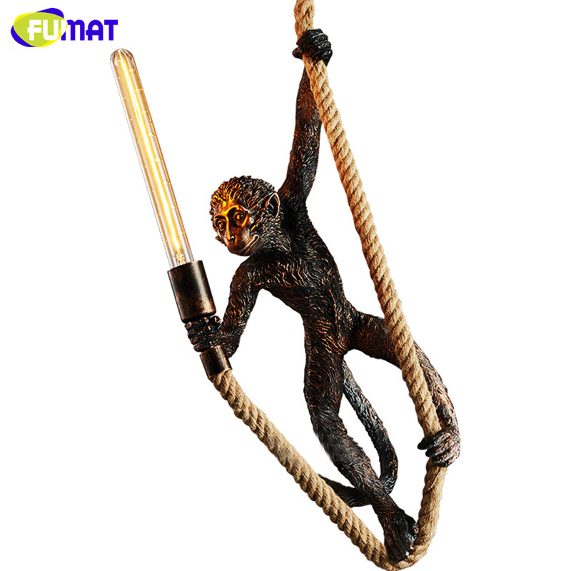 Monkey Pendant Light 14