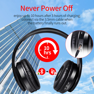 Image 3 - Wireless Headphones Bluetooth Headset Foldable Stereo Headphone Gaming Earphones Support TF Card With Mic For PC All phone Mp3