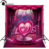 Allenjoy photographic background Sweet romantic love stage photo backdrops for sale send rolled high quality Private party