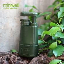 Портативный очиститель воды для кемпинга, аварийного/готовность к стихийным бедствиям, выживания фильтр для воды/система фильтрации