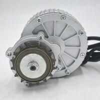 24V 36V 450W brush motor for change bike into electric bike DIY motor kit