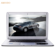 Amoudo-6C 8GB RAM+240GB SSD+500GB HDD 14inch 1920×1080 FHD Windows 7/10 Dual Disks Quad Core Ultraslim Laptop Notebook Computer