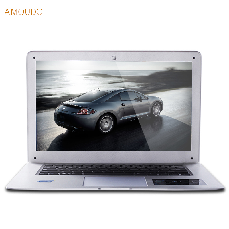 Amoudo 8GB RAM 240GB SSD 500GB HDD 14inch 1920x1080 FHD Windows 7 10 Dual Disks Quad