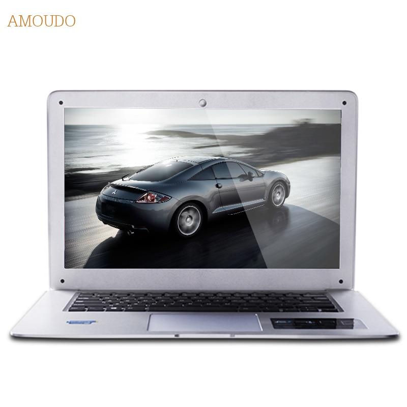 Amoudo 8GB RAM 240GB SSD 500GB HDD 14inch 1920x1080 FHD Windows 7 10 Dual Disks Quad