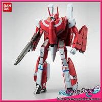 Genuine Bandai Tamashii Nations HI METAL R Exclusive Macross VF 1J Super Valkyrie (Milia Fallyna Jenius Unit) Action Figure