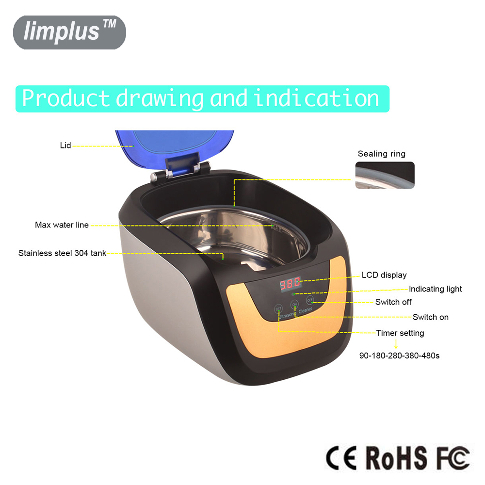 Limplus Touch Control Panel 750ml - საოჯახო ტექნიკა - ფოტო 3