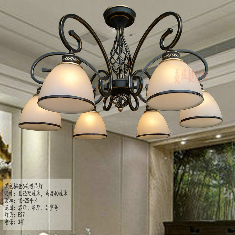 Chandelier Shipping LED copper pendant lamp simple pastoral Tieyi lighting dual-purpose living room lamp ZX116 2012 hot sell lighting tieyi gourd pendant light modern fashion tieyi mdp100601 18a free shipping