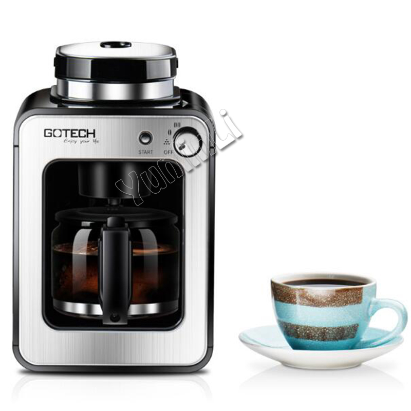 Automatic Coffee Makers Coffee bean Grinder with Cafe pot Home/ Office Espresso machine CM6686A automatic capsule coffee makers machines espresso