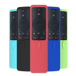 Image 1 - Schutzhülle Weiche Silikon Haut Fernbedienung Fall Anti Slip Stoßfest Ersatz für Xiaomi Mi Box S Controller