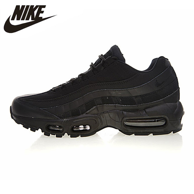 premium selection 9f0e9 0362c Nike Air Max 95 Essential Men's Running Shoes , Black, Shock-absorbing  Non-slip Wear Resistant 749766 009