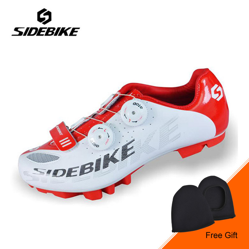 SIDEBIKE Breathable Athletic Cycling Shoes Men Outdoor Mountain Bike Shoes Bicycle Shoes Racing MTB Breathable Bike Shoes