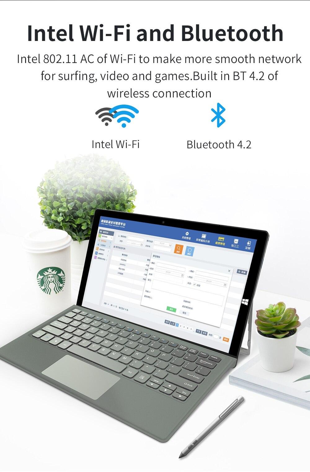2 in 1 Tablet PC Jumper EZpad Go 11.6 inch IPS Display windows tablet (11)