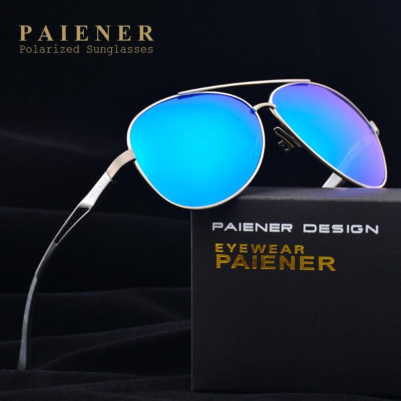Nueva moda de aluminio de aleación de magnesio polarizadas Gafas de Sol  para hombres mujeres Hombre 2592a49133da