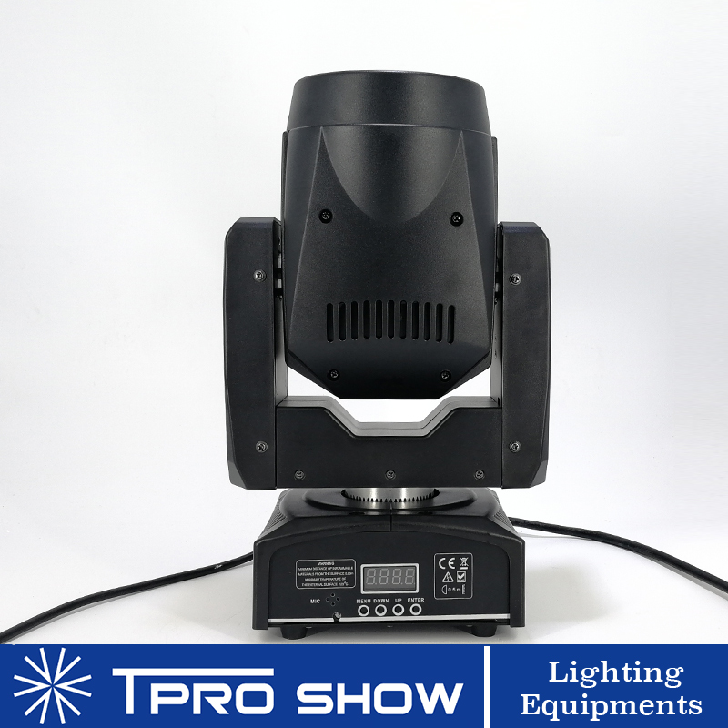 Image 3 - 2pcs 90W Moving Head Spot Lyre LED Stage Lights Dmx Gobo Prism Beam Effect Mini DJ Light for Party Club Wedding with Music Mode-in Stage Lighting Effect from Lights & Lighting