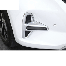 Lsrtw2017 Plating Silver Car Front  Rear Foglight Trim Cover for Trumpchi Gs5 2012 2013 2014 2015 2016 2017 2018 2019 2020 lsrtw2017 abs car front grill decorative mark circle for trumpchi gs5 2012 2013 2014 2015 2016 2017 2018 2019 2020