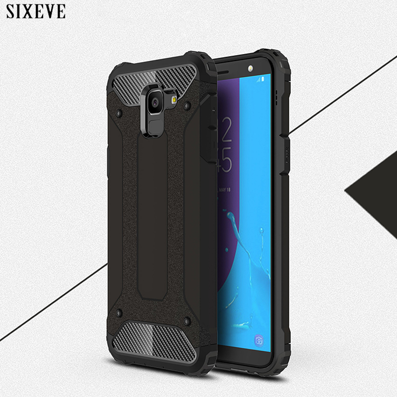 Armor Phone Case For Samsung Galaxy J7 Neo MAX J3 J5 Grand Prime 2016 2017 J4 J6 2018 A6 A8 Plus A3 A5 A7 Hard PC TPU Back Cover nokia 8 new 2018