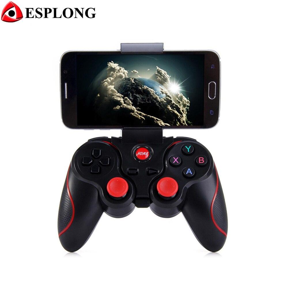 T3 Contrôleur de Jeu Sans Fil Joystick Bluetooth 3.0 Android Gamepad de Jeu À Distance Controle pour PC Tablet Xiaomi Huawei Smartphone