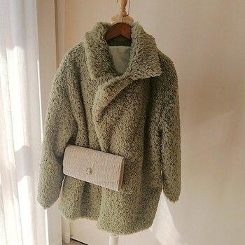 2018 New Style High-end Fashion Women Faux Fur Coat S36