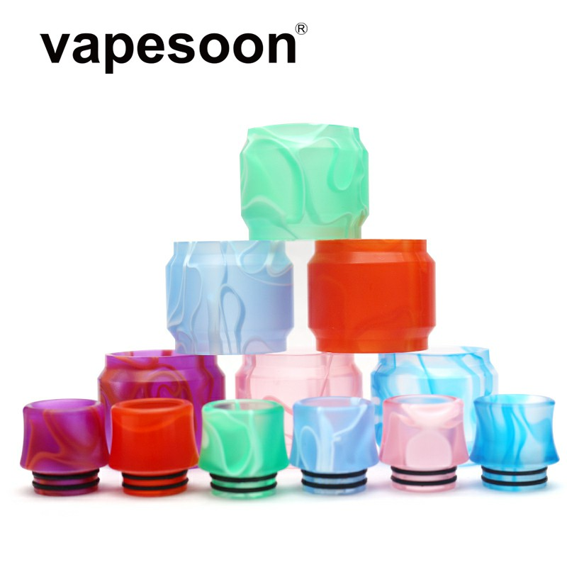 Coloful  Replacement Extend Acrylic Pyrex Glass Tube +Drip Tip For Smok TFV12 Prince Tank 8ml Atomizer
