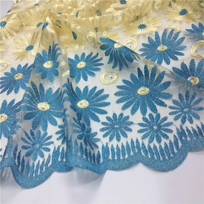 African jacquard embroidered fabric bazin riche getzner Guinea Barocade fabric for Nigerian lace fashion dresses Royal