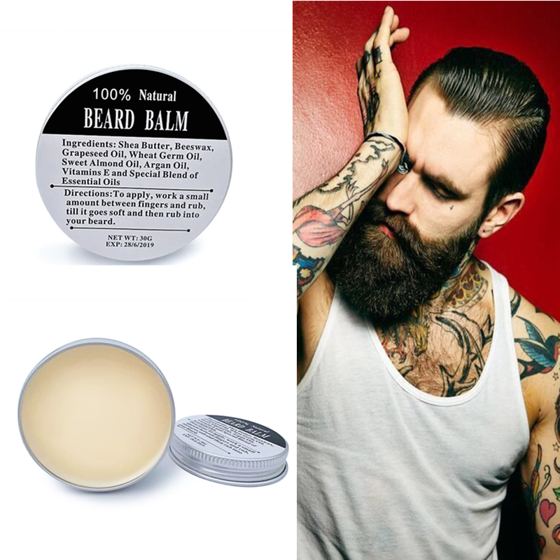 Preboily Hot Sale <font><b>Beard</b></font> <font><b>Balm</b></font> for <font><b>Beard</b></font> Conditioning Moustache Wax for <font><b>Beard</b></font> Styling Your <font><b>Beard</b></font>