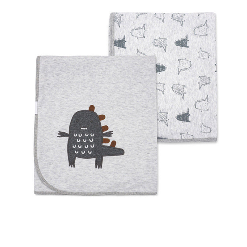 Super Soft 100% Cotton Baby Bedding Blanket Double-deck Newborns Swaddle Bebe Envelope 16 Colors Cartoon Infant Stroller Wrap