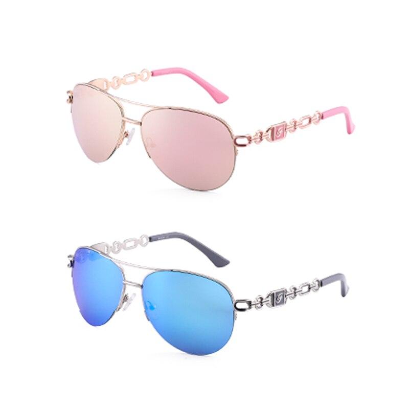 FENCHI sunglasses women uv 400 oculos female glasses sun glasses mirror Pilot Pink feminino zonnebril dames gafas de sol mujer 10
