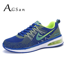 AGSan casual shoes men 2017 designer fly woven walking shoes blue black mens shoes trainers zapatillas deportivas mujer hombre