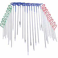30 stücke in 1 PDR Haken Werkzeuge Push Stange Auto CrowbarPaintless Dent Reparatur Werkzeuge PDR Dent Puller Lifter Kits Ding hagel Puller Set