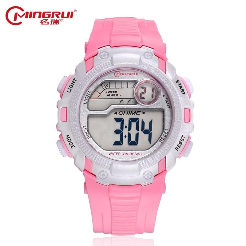 MINGRUI Brand Women Sport Watches Children Electronic Digital Watch Men Waterproof Relogio Feminino Outdoor Hombre Wristwatches
