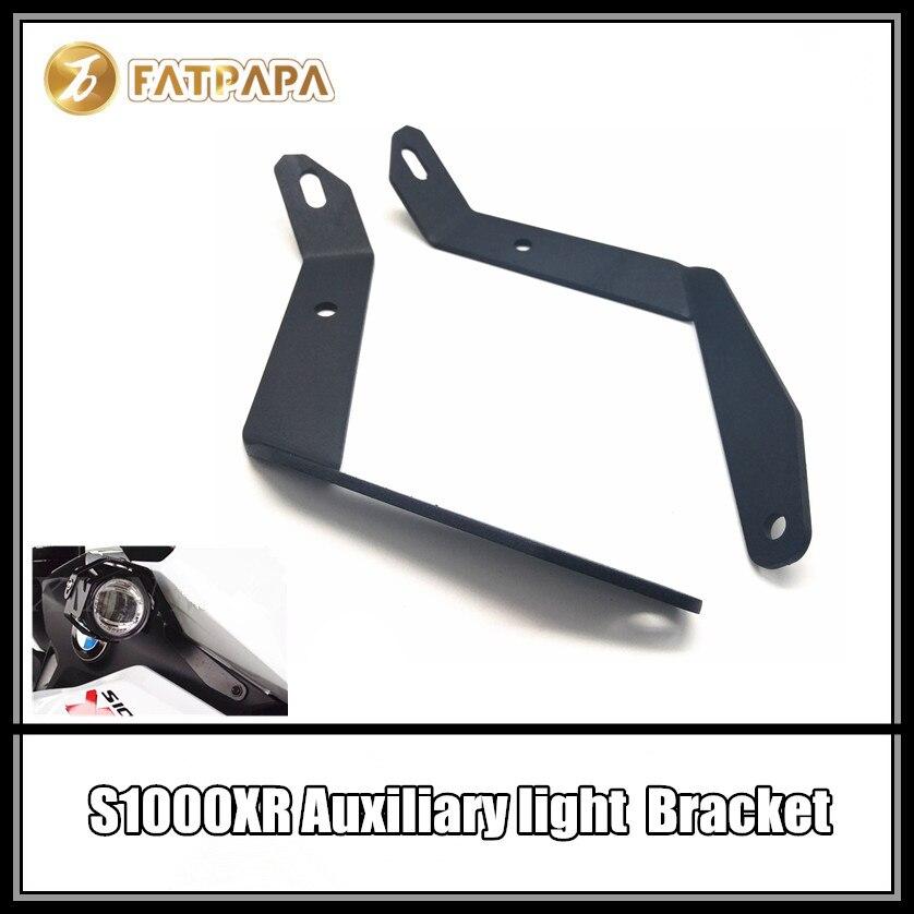 Moto Accessoires Brouillard Spotlight Lumière Illuminateur Lampe Auxiliaire Phare Montage pour BMW S1000XR
