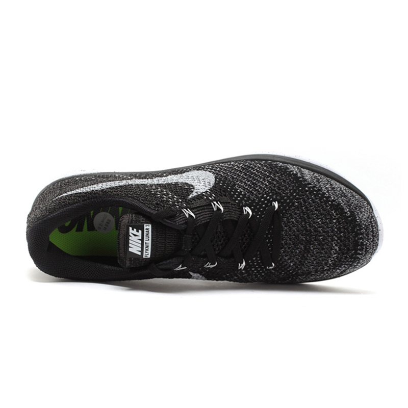 new style 674a1 1b2f1 Original Official New Arrival Authentic Nike FLYKNIT LUNAR 3 Men s Mesh  Light Running Shoes Sneakers Trainers-in Running Shoes from Sports    Entertainment ...
